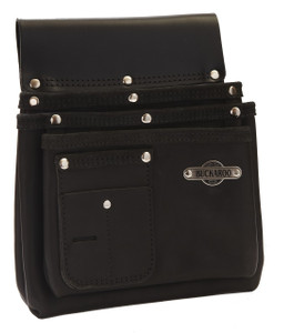 Buckaroo Nail Bag  Black  3 Pocket