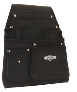 Buckaroo Nail Bag Form Work  Black  4 Pocket