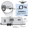 The CONVERTA•Q kit makes connecting your WEBER® Q® to your RV's propane quick-connect easy.