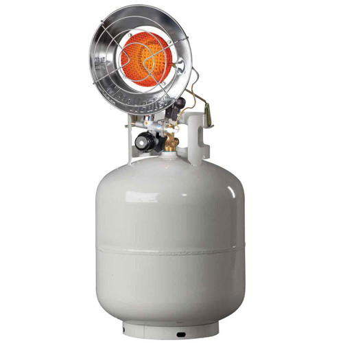 Mr. Heater MH15T(S) Single Tank-Top Propane Heater with Electronic Spark Ignition
