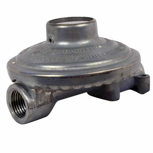 """Low Pressure Regulator (140,00 BTU) 1/4"""" Inlet x 3/8"""" Outlet"""