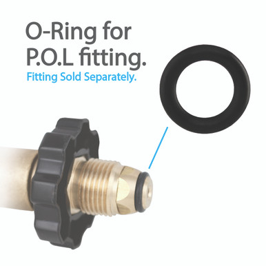 O Ring For Soft Nose P O L Fittings 5 Per Pack Propanegear