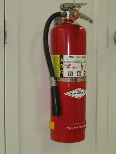 Fire Extinguisher Straps