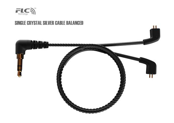 FLC8S single crystal silver upgrade cable balanced