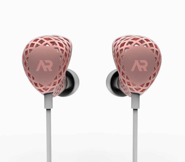 Heygears Anora 3D Printed Balanced Armature Earphones Rose Gold