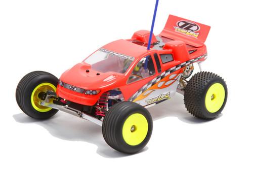 Titanium front bumper fits the Team Losi mini-T.