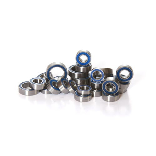 HPI E-Savage complete 26 Piece Bearing kit.  For use with the E-Savage trucks only.  Check out our other kits for Flux bearing kits.