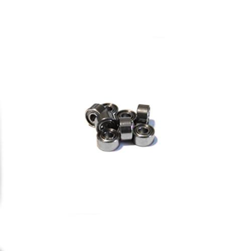 Bearings Metric Series 2x5x2.5 MM Metal Shielded (2 Pack) (MR52 ZZ)