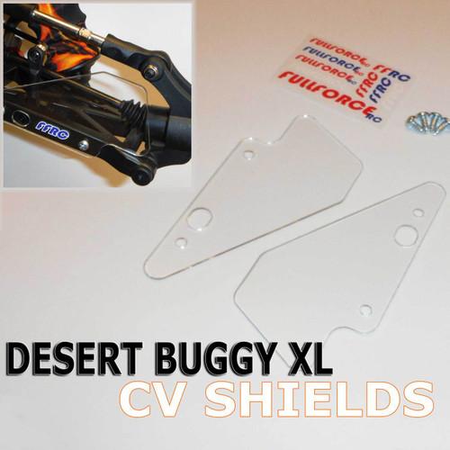 Team Losi Desert Buggy XL Rear CV shields.  Fits the original DBXL and the new K&N trucks too.