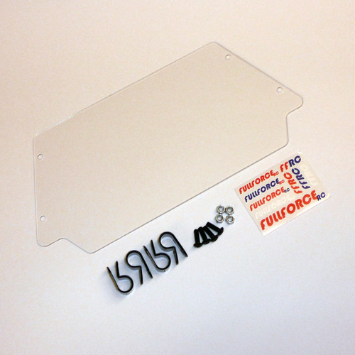 Losi Desert Buggy XL Front Windshield made right here in the USA.  Complete with mounting hardware.