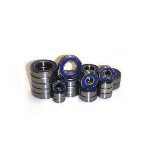 KRAKEN VEKTA.5 complete rubber sealed bearing kit.  Comes with a full 28 pieces and replaces all bearings on your truck.  Includes the additional two bearings for the V2 axle as well as the original bearings for the V1.