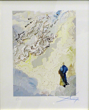 DIVINE COMEDY - THE CONSTELLATION OF BLESSED SPIRIT BY SALVADOR DALI