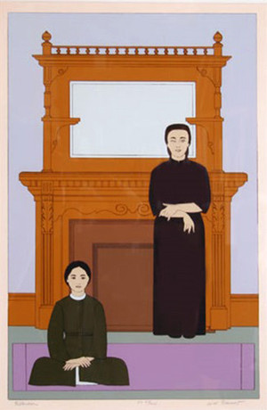 REFLECTION BY WILL BARNET