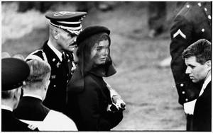 PORTFOLIO I: JACQUELINE KENNEDY AT JFK'S FUNERAL BY ELLIOTT ERWITT