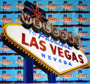 WELCOME TO FABULOUS LAS VEGAS BY STEVE KAUFMAN