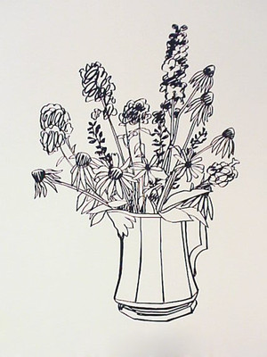 COUNTRY BOUQUET FOR TAMMY BY TOM WESSELMANN