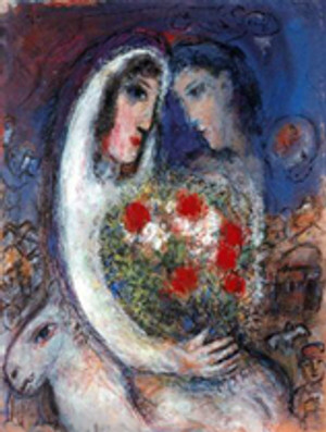MARRIAGE BY MARC CHAGALL
