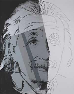 ALBERT EINSTEIN FS II.229 BY ANDY WARHOL