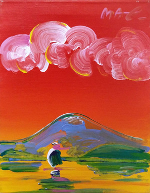 ZEN BOAT (1990'S) BY PETER MAX