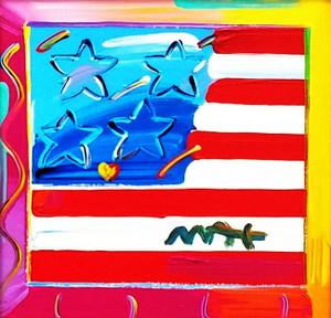 FLAG (ORIGINAL) BY PETER MAX