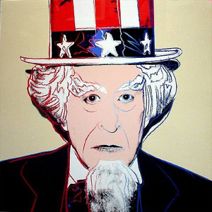 MYTHS: UNCLE SAM FS II.259 BY ANDY WARHOL
