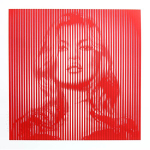 FAME MOSS (RED ON RED) BY MR. BRAINWASH