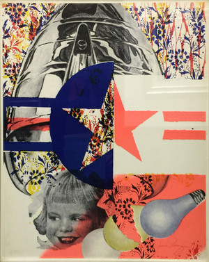 F-111 (CASTELLI GALLERY POSTER) BY JAMES ROSENQUIST