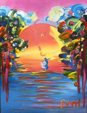 BETTER WORLD III (TODAY) BY PETER MAX