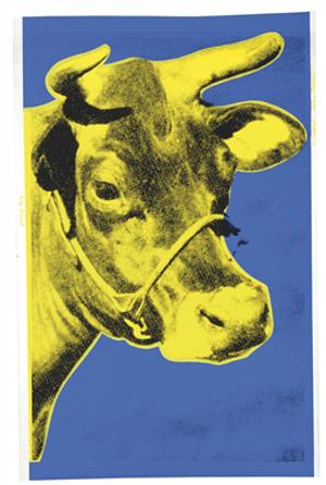 COW WALLPAPER FS II.12 BY ANDY WARHOL