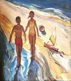 BEACH DAY II BY IGOR KOROTASH