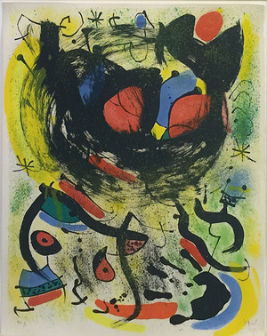 THE SEERS I ( LES VOYANTS) BY JOAN MIRO