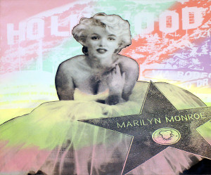 HOLLYWOOD MARILYN BY STEVE KAUFMAN