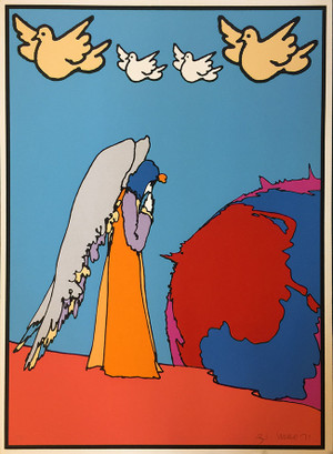 PROSTRATIONS (1970'S) BY PETER MAX