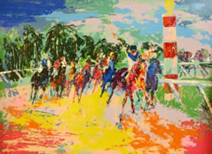 FLORIDA RACING BY LEROY NEIMAN
