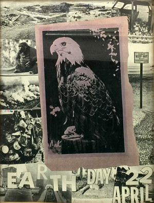 EARTH DAY BY ROBERT RAUSCHENBERG