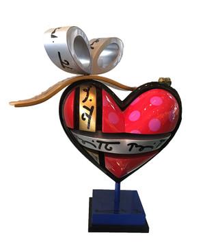HEART BY ROMERO BRITTO