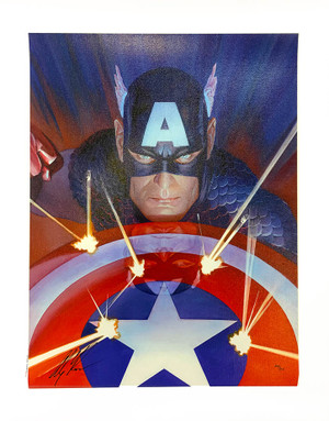 VISIONS: CAPTAIN AMERICA BY MARVEL