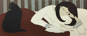 THE READER BY WILL BARNET