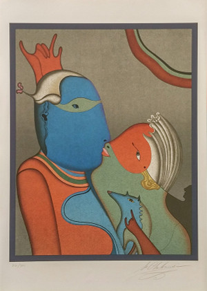 ANONYMOUS KISS BY MIHAIL CHEMIAKIN