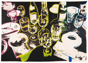 AFTER THE PARTY (UNSIGNED) FS II.183 BY ANDY WARHOL