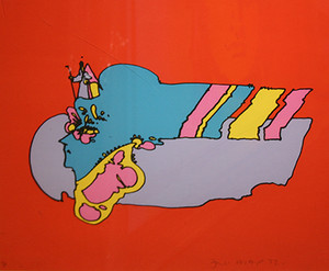 WITNESS FROM ABOVE BY PETER MAX