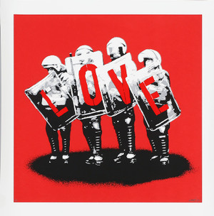 LOVE COPS (RED) BY MARTIN WHATSON