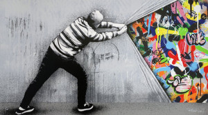 BEHIND THE CURTAIN BY MARTIN WHATSON