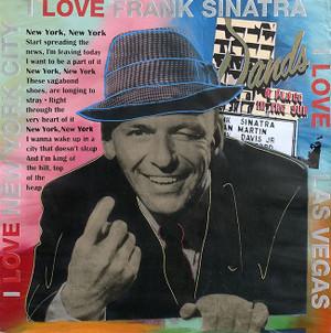 I LOVE FRANK SINATRA BY STEVE KAUFMAN