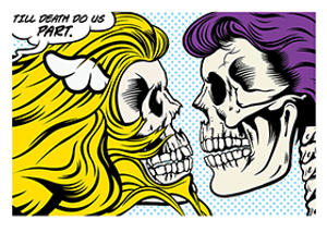 TILL DEATH DO US (P)ART BY D*FACE