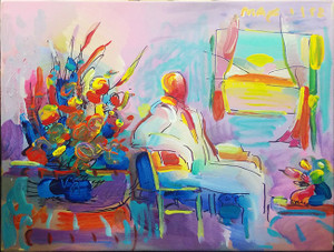 LIVING ROOM BY PETER MAX