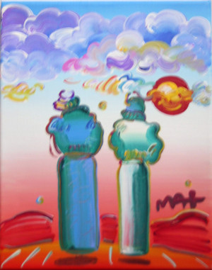 UNTITLED 1 BY PETER MAX
