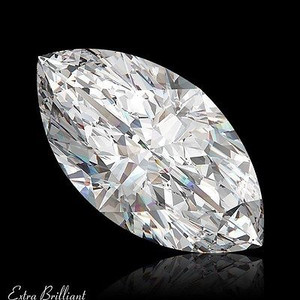 GIA Certified .51 Carat Marquise Diamond F Color VVS2 Clarity Excellent Investment