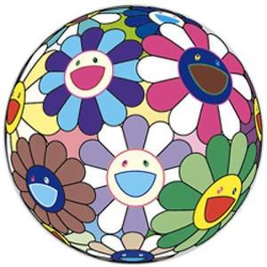 FLOWERBALL DUMPLING  BY TAKASHI MURAKAMI