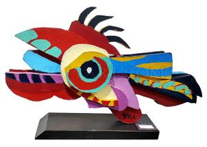FLYING FISH BY KAREL APPEL